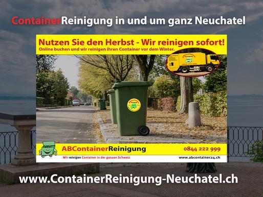 ContainerReinigung Neuchatel - Wir reinigen Ihren Container vor dem Winter - jetzt online Buchen unt