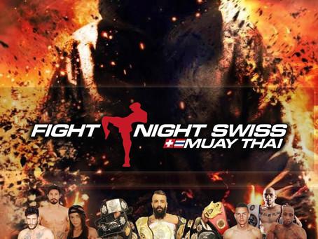 Flyerdesign für Fight Night 2017