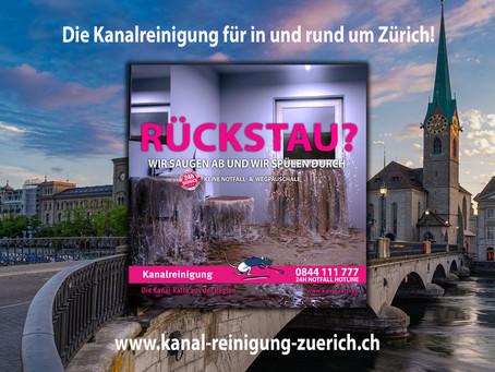 Kanalreinigung in und um Zürich - kanal-ratte.ch