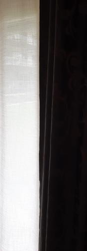 Tagesvorhang/ Decor dunkel