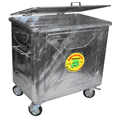 Stahlcontainer 800 Liter