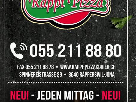Flyer Design Rappi Pizza 2020
