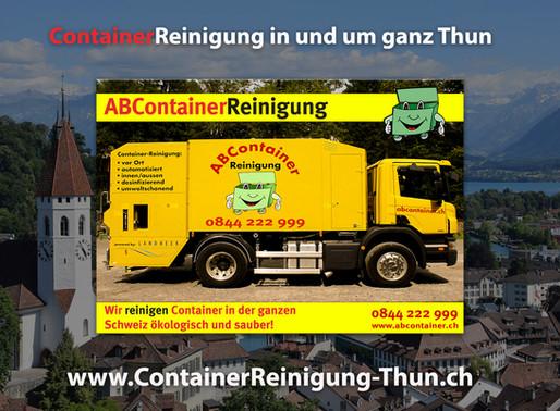 ContainerReinigung Thun - ABContainer24.ch