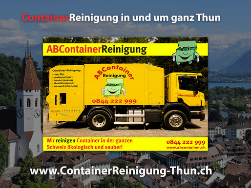 ContainerReinigung Thun - ABContainer24.ch