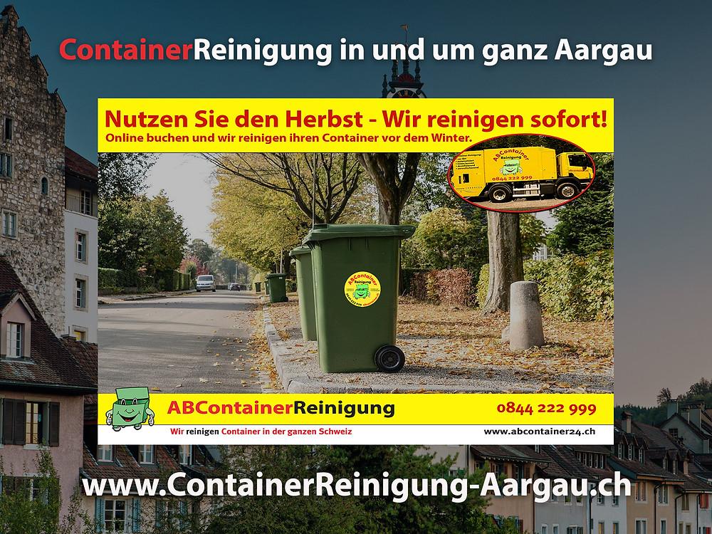 jetzt online Buchen - www.containerreinigung-aarau.ch