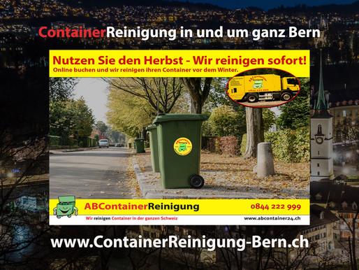 ContainerReinigung Bern - Wir reinigen Ihre Container vor dem Winter!