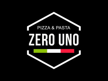 Logo Design Pizza Zero uno Wattwil 2020