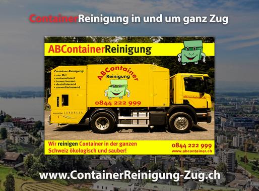 ContainerReinigung Zug - Abcontainer.ch - Wir machen ihren Container sauber!