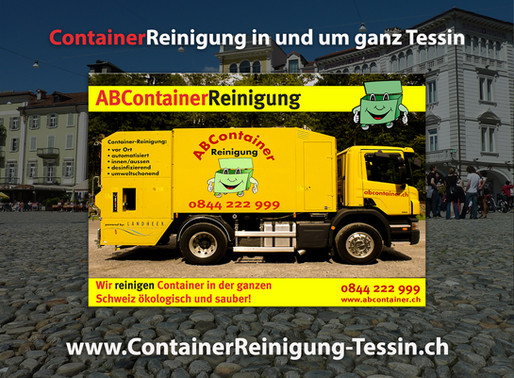 Container Reinigung Tessin - ABContainer.ch