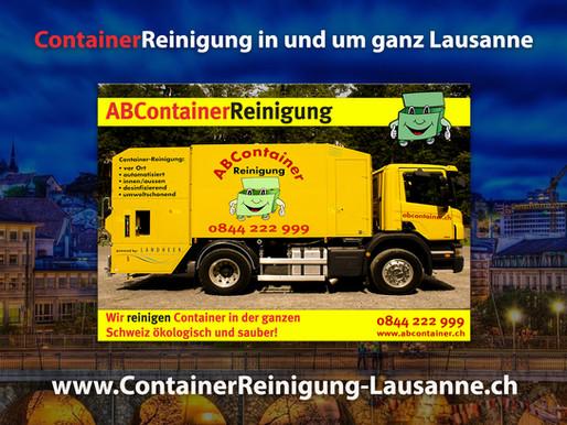 ContainerReinigung Lausanne - Abcontainer.ch