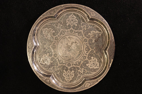 Persisches Silbertablett
