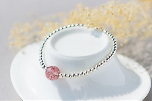Armband WEISSE ROSE