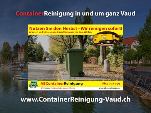 ContainerReinigung Vaud - Wir reinigen Ihre Container vor dem Winter