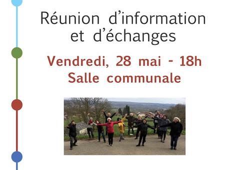 Première Réunion publique à Anères