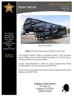 1611-0017 Stolen Vehicle Public