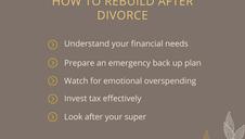 Starting over after divorce or relationship breakdown