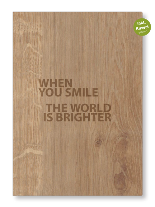SMILE FALTKARTE