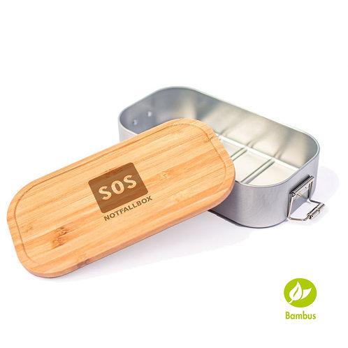 SOS - Lunchbox mit Bambusdeckel