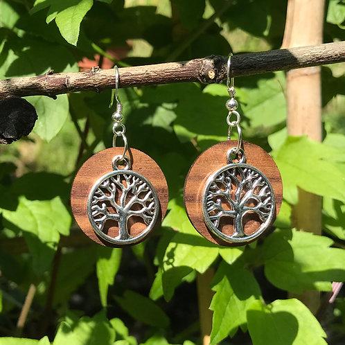 Ohrringe «lebensbaum»