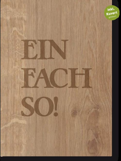 EINFACHSO FALTKARTE