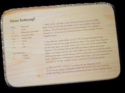 Schneidbrettchen «butterzopf»