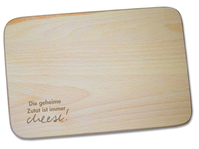 Schneidbrettchen «cheese»