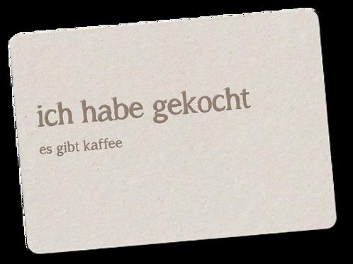 GEKOCHT