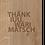 Thumbnail: THANK YOU FALTKARTE