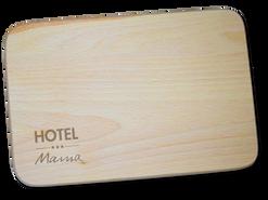 Schneidbrettchen «hotel mama»