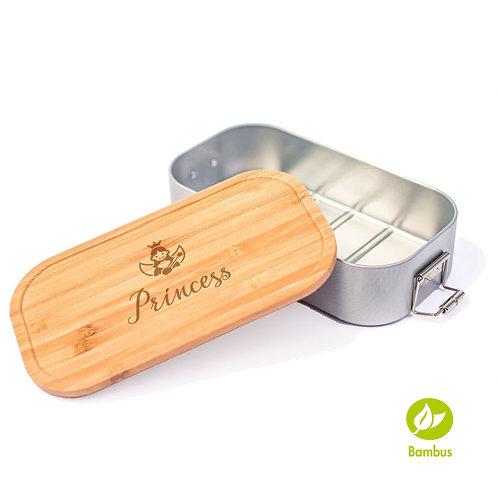 PRINCESS - Lunchbox mit Bambusdeckel