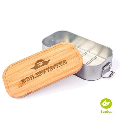 SCHATZTRUHE - Lunchbox mit Bambusdeckel