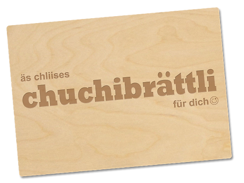 CHUCHIBRÄTTLI