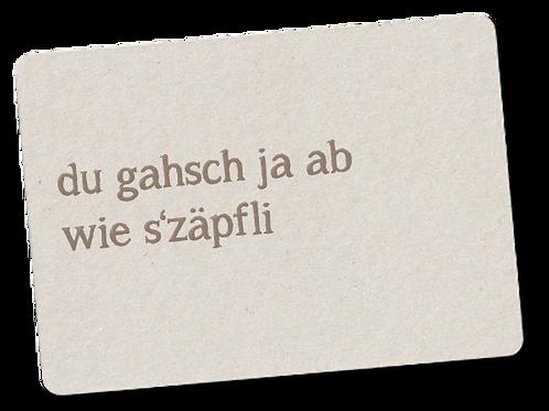 ZÄPFLI