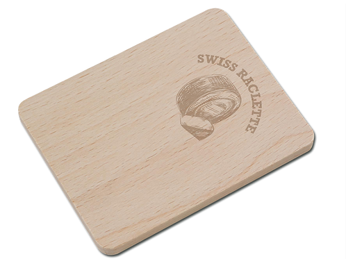 «SWISS RACLETTE» Raclette-Untersetzer
