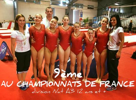 Championnats de France Equipe 2016