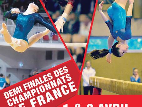 La GEM organise les 1/2 finales des Championnats de France Individuels GAF