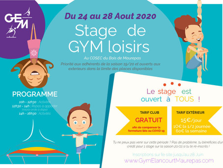 STAGE AOUT 2020