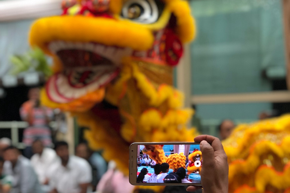 Lunar New Year in Singapore: Lion Dance at Sai Centre