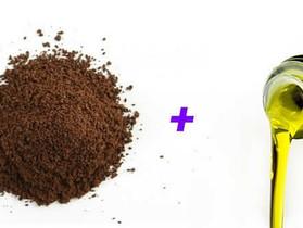 Esfoliante Feito de Borra de Café