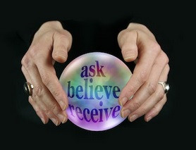 Hands on a crystal ball
