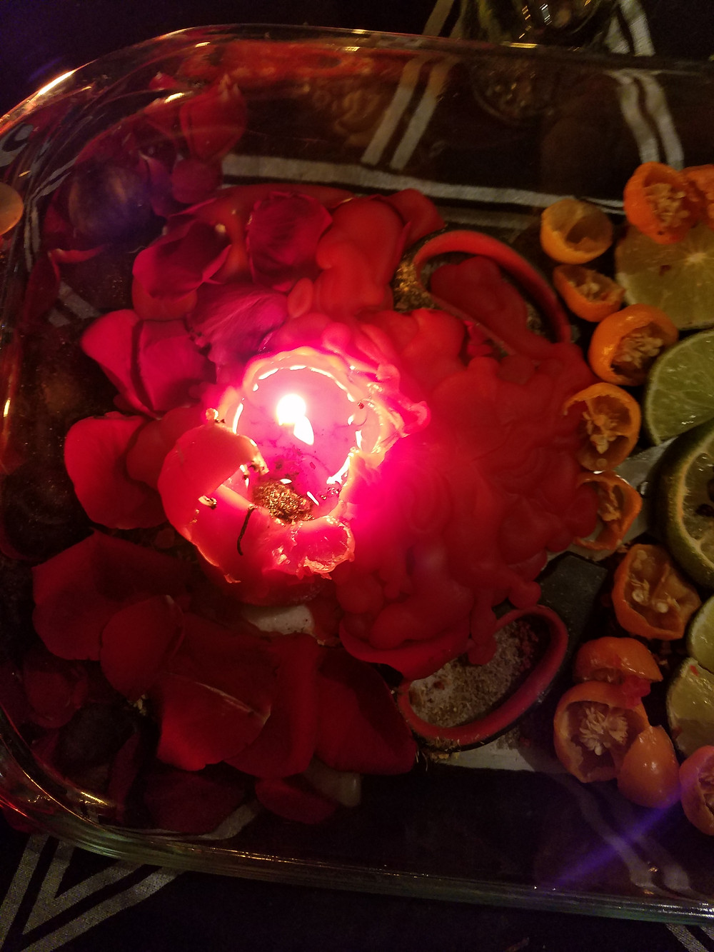 Candle from a Love Spell