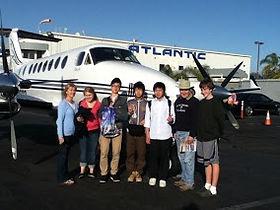 NOW homestay kids fly to Disneyland | 英会話教室 富士市 富士宮市 NOW 翻訳