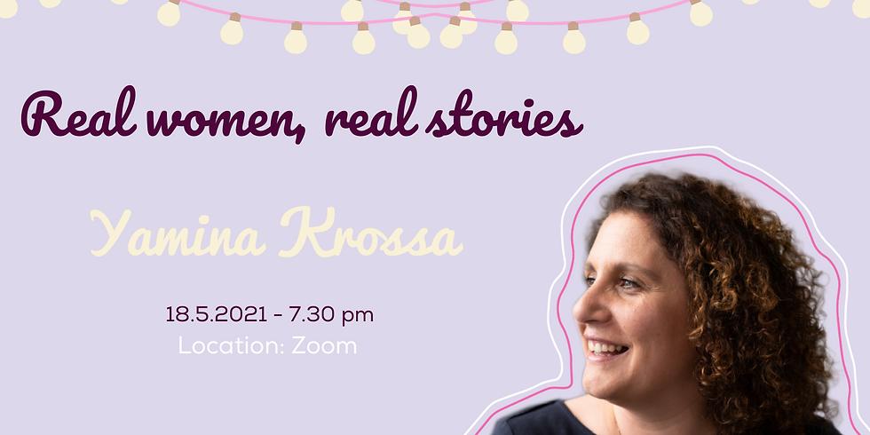 Real women, real stories: Yamina Krossa