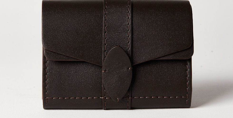 TRAVEL WALLET, brown
