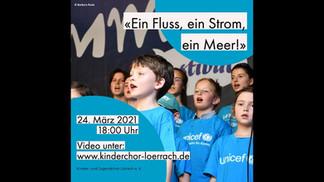 EIN FLUSS, EIN STROM, EIN MEER // Beitrag des Kinder- und Jugendchors Lörrach zu den Internationalen Wochen gegen Rassismu 2021