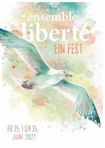 Flyer ENSEMBLE LIBERTÉ_Ein Fest_Juni 202