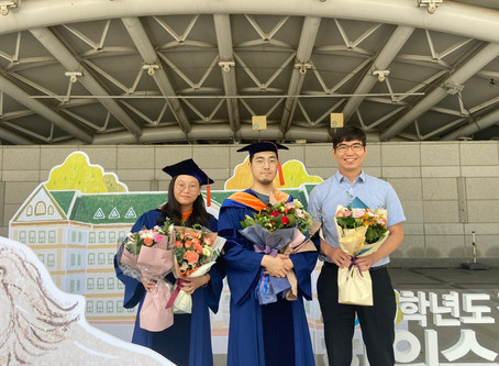 Hayun Park and Joowon Lee Graduation