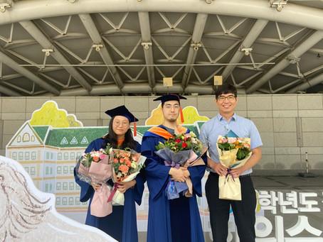 Hayun Park and Joowon Lee Graduation