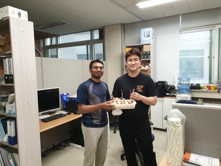 SungYong Kim and Pasan birthdays