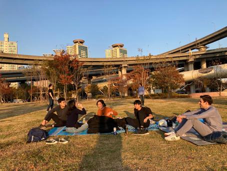 Picnic at Han river park